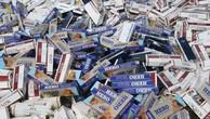 Đề xuất không đấu giá thuốc lá lậu