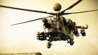 Khoảnh khắc 'Thợ săn đêm' Mi-28 nhả đạn vào IS ở Mosul
