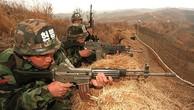 Binh lính Hàn Quốc đóng quân tại khu vực biên giới liên Triều (Ảnh: EPA)