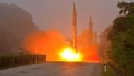 Một vụ thử tên lửa của Triều Tiên. (Ảnh: Reuters)