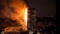 Hiện trường vụ cháy tòa tháp 24 tầng ở London