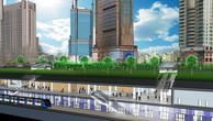 Toàn hệ thống ngầm 2,6 km của metro Bến Thành - Suối Tiên