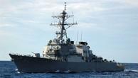 Dàn khí tài phòng thủ không bảo vệ nổi chiến hạm Mỹ trước tàu hàng