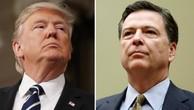 Tổng thống Mỹ Donald Trump và cựu giám đốc FBI James Comey. Ảnh:Reuters.