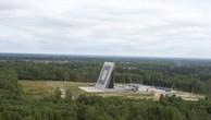 Đài Voronezh-VP đặt tại tỉnh Irkutsk. Ảnh:Survincity.