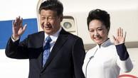 Chủ tịch Trung Quốc Tập Cận Bình và phu nhân Bành Lệ Viên. (Ảnh: SCMP)