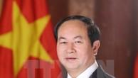 Chủ tịch nước Trần Đại Quang. (Ảnh: Nhan Sáng/TTXVN)