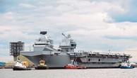 Tàu sân bay HMS Queen Elizabeth của Hải quân Anh. (Ảnh: Royal Navy)