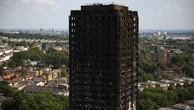 Tháp Grenfell sau vụ hỏa hoạn hôm 14/6. Ảnh:Reuters.