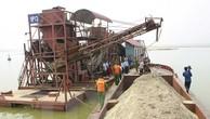 Xử lý hơn 2.000 vụ khai thác cát, sỏi trái phép