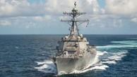 Mỹ biên chế tàu khu trục 'lá chắn thần' tối tân
