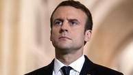 Tổng thống Pháp Emmanuel Macron. Ảnh:Reuters.