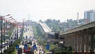 Tuyến metro 1 đã hoàn thành hơn 17 km. Ảnh:Hữu Công.
