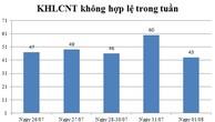 Ngày 01/08: Có 43 thông báo kế hoạch lựa chọn nhà thầu không hợp lệ