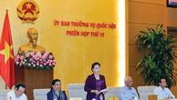 Ủy ban Thường vụ Quốc hội tiến hành giám sát chuyên đề BOT