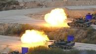 Mỹ - Hàn tập trận chung hồi tháng 4. Ảnh:AFP