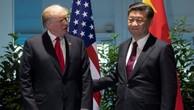 Tổng thống Mỹ gặp Chủ tịch Trung Quốc hồi tháng 7. Ảnh:Reuters.