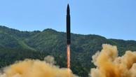Một vụ phóng thử tên lửa của Triều Tiên. Ảnh:Reuters/KCNA.