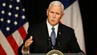 Ông Mike Pence kêu gọi Nam Mỹ cắt quan hệ với Triều Tiên. Ảnh:Reuters.