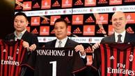 Doanh nhân Yonghong Li trở thành ông chủ mới của AC Milan hồi tháng 4.