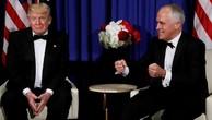 Tổng thống Mỹ Donald Trump trong cuộc gặp Thủ tướng Australia Malcolm Turnbull. Ảnh:Reuters.