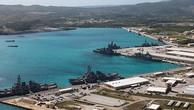 Căn cứ Guam của Mỹ ở Thái Bình Dương. Ảnh:Reuters.