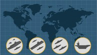 Lực lượng hải quân Mỹ triển khai trên toàn thế giới