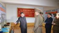 Sơ đồ tên lửa Pukguksong-3 xuất hiện trong bức ảnh do truyền thông Triều Tiên công bố ngày 23/8. Ảnh:KCNA.