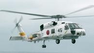 Trực thăng quân sự Nhật Bản mất tích trên biển