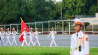 Lễ chào cờ trang trọng tại Quảng trường Ba Đình mừng Quốc khánh