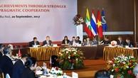 Hội nghị Bộ trưởng Chương trình hợp tác kinh tế GMS lần này đã xem xét đưa ra định hướng xây dựng và hoàn thiện Kế hoạch hành động Hà Nội. Ảnh: Lê Tiên