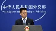 Phát ngôn viên Bộ Ngoại giao Trung Quốc Lục Khảng. Ảnh:AFP.