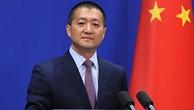 Người phát ngôn Bộ Ngoại giao Trung Quốc Lục Khảng. Ảnh:Xinhua.