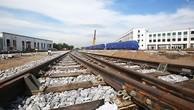Các đoàn tàu được lắp đặt trên đường sắt Cát Linh-Hà Đông