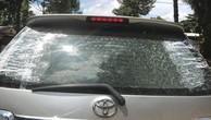 Vụ đi mua HSMT nghi bị bắn vỡ kính ô tô: Công an tỉnh Bình Phước nói gì?