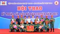 Tự hào những chiến sĩ cấp cứu mỏ