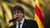 Lãnh đạo Catalonia Carles Puigdemont. Ảnh:AFP.