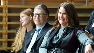 Vợ chồng Bill và Melinda Gates cùng con gái. Ảnh:Getty Images