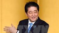 Thủ tướng Nhật Bản Shinzo Abe. (Nguồn: Kyodo/TTXVN)