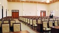 Kết quả lựa chọn nhà thầu Gói thầu Mua sắm trang thiết bị Hội trường Ủy ban Mặt trận Tổ quốc tỉnh Thái Nguyên bị nhà thầu kiến nghị. Ảnh: Lan Hương