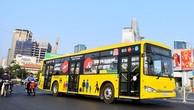 TP.HCM thu về hơn 160 tỷ đồng từ đấu giá quảng cáo xe buýt