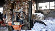 Hình ảnh tại một trung tâm tái chế rác thải giấy tại Thượng Hải ngày 17/11/2017 - Ảnh: Reuters.