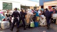 Giẫm đạp vì lương thực ở Morocco, 15 người chết