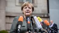 Thủ tướng Angela Merkel trả lời phỏng vấn trước cuộc đàm phán ở Berlin, ngày 16/11. (Nguồn: AFP/TTXVN)