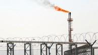 Mỏ khí đốt tự nhiên Bắc Rumaila, phía bắc cảng Basra ở miền nam Iraq. (Ảnh: AFP)