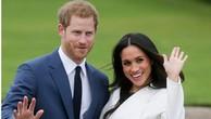 Hoàng tử Anh Harry và hôn thê Markle. Ảnh:AFP.