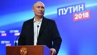 Putin tái đắc cử tổng thống Nga