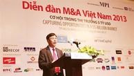 M&A làm cho tái cấu trúc doanh nghiệp đạt hiệu quả hơn
