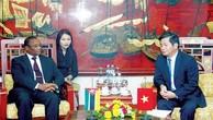 Thúc đẩy đầu tư trên nhiều lĩnh vực giữa Việt Nam và Mozambique