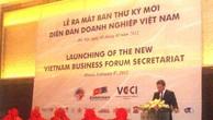 Ra mắt Ban Thư ký mới Diễn đàn doanh nghiệp Việt Nam